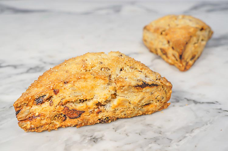 Nutty Fig Scone