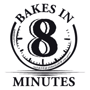 Bake-at-Home in 8 Minutes Seal