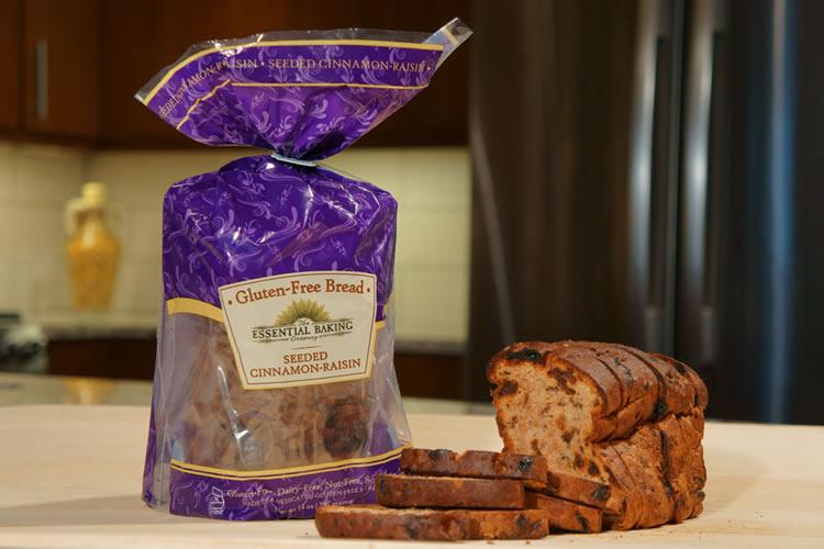Gluten-Free Cinnamon Raisin Sliced Bread - Essential Baking Company