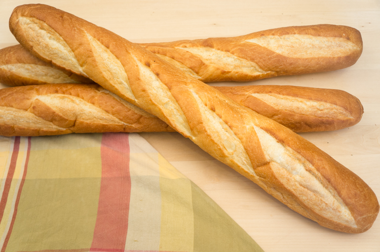 French Baguettes Recipe — Dishmaps
