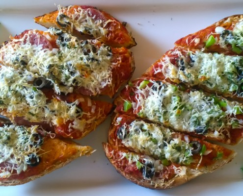 Bake-at-Home Pizza