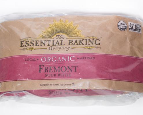 Fremont loaf stored in a plastic bag.