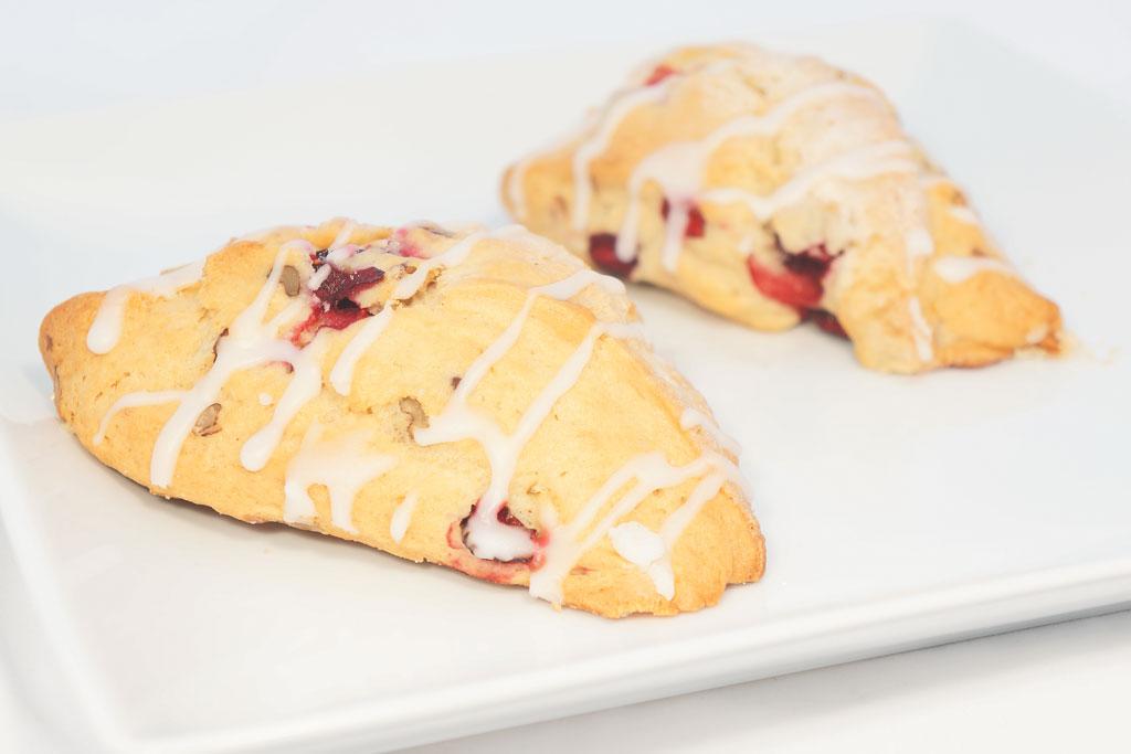 Cranberry-Pecan-Scone