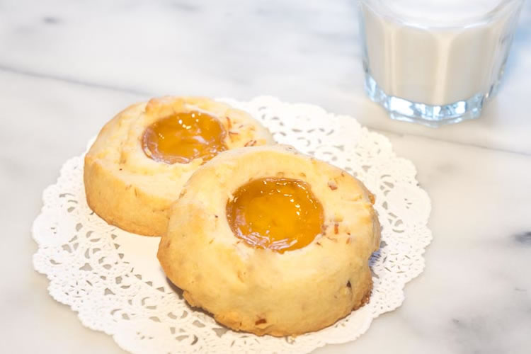 Apricot Sable Cookies