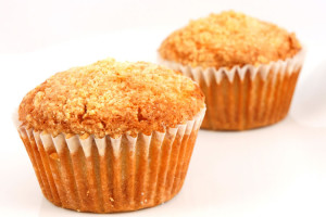 Muffins: Ginger Pear
