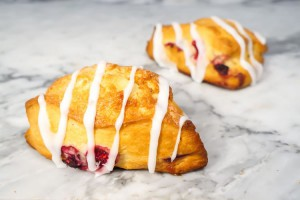 Lemon Raspberry Scone